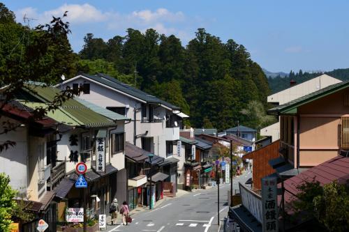 (高野山内の風景①)