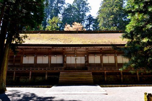 「山王院」拝殿を横目に見つつ、さらに奥へ進んでゆくと……。