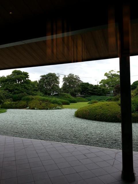 お庭も とてもきれいです <br />