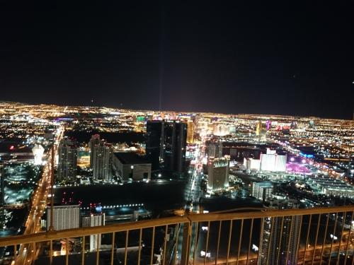 タワーからの夜景。<br />宿泊者はキーカードでタワー登り放題です。