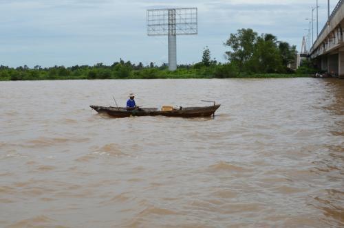 これがメコン川。