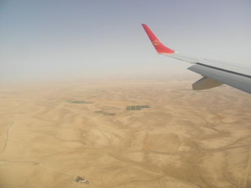 ヨルダンの大地へ。