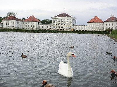 翌朝訪れたニンフェンブルク城