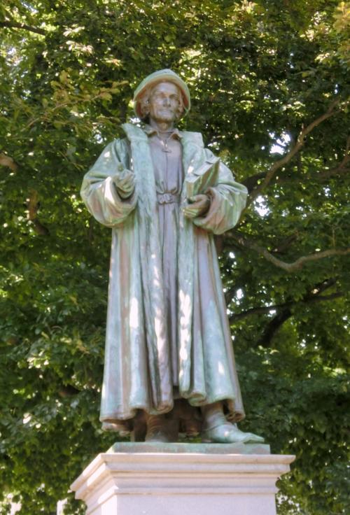 フィリップ・メランヒトン。<br />神学者。ルターと協力して宗教改革を推進。1497〜1560年。