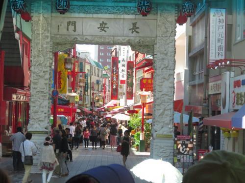 神戸中華街!