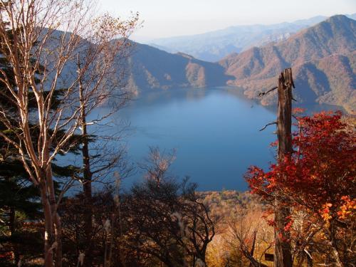 五合目上からの中禅寺湖