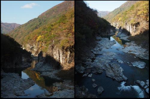風もなく穏やかな天気だったので、川に少し写った様もなかなか<br />良かったです