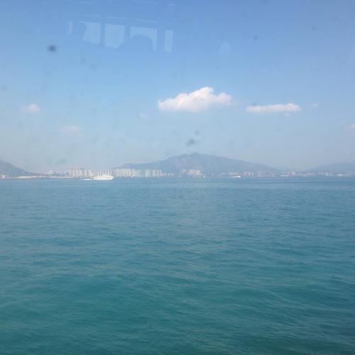 香港国際空港〜マカオ<br />50分の旅です。