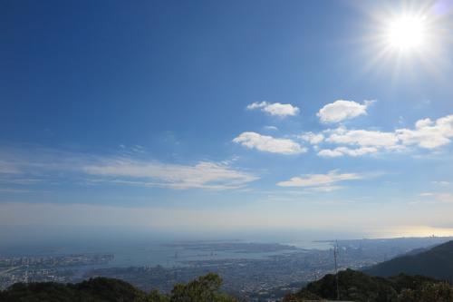 ポートアイランドも神戸の街並みも見えます!<br />