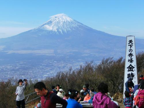 富士山が絶景です。