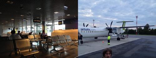 さて、今日はラトビアのリガからリトアニアのヴィリニュスに飛ばなくてはならない。レンタカーで再びラトビアに戻り車を返却。そして夜の便でヴィリニュスに移動した。リガからヴィリニュスまでは、飛行機で1時間ぐらい。こちらもあっという間に到着してしまった。
