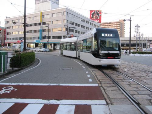 環状線用の車両、通称「セントラム」。