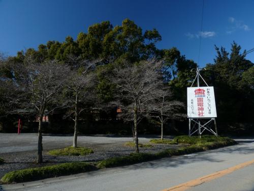 県道364号の南側の駐車場です。