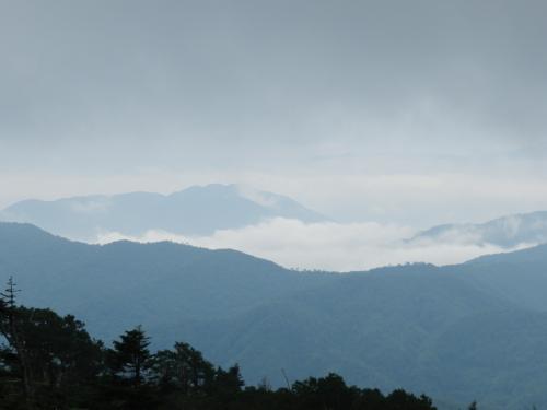 雲海のようになっている箇所もありました。