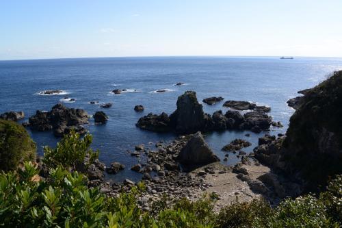 太平洋。   <br /><br />紀伊大島・樫野崎より。<br />