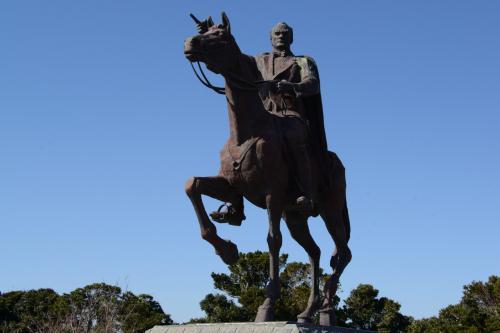 ムスタファ・ケマル・アタチュルク騎馬像。  <br /><br />紀伊大島・樫野崎にて。<br />