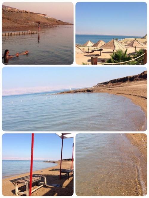 6時までだったので大急ぎでビーチへ!ホテルごとにプライベートビーチみたいな感じ<br />6月だから水温は生温かったです<br />