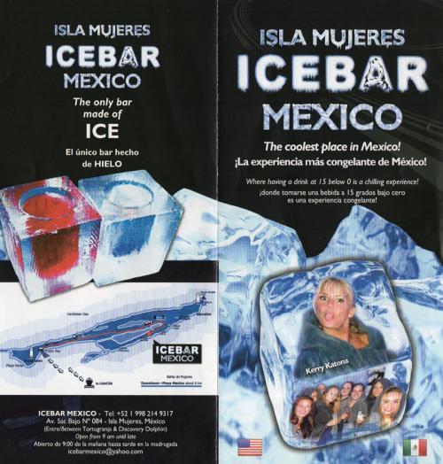 というわけで、ICE BARの場所はこちらからご確認くださいませ(^^)<br /><br />イスラムへーレスのタクシーやレストランのウェイターは皆知っていますので、気軽に聞くと教えてくれますよ。<br />