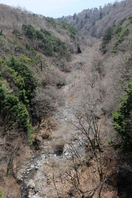 八ヶ岳高原ラインを小淵沢方面へ進み、東沢橋を渡ります。<br />吸い込まれそうな深い谷です。<br /><br />東沢渓谷のハイキングコースは崩落が数ヵ所あり、迂回コースになっています。<br />