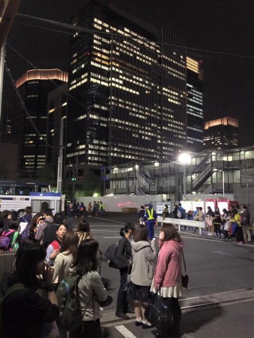 そわそわ感。バスが到着したらアナウンスするんでって言われて待ってたら<br />まさかのもう到着しててあやうく、バスも乗り遅れるところでした。<br />ふー日本語って難しい。(笑