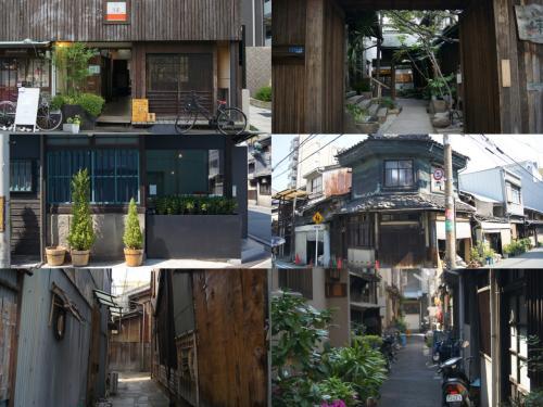 こちらでも歩く歩く。暑い!<br /><br />歩き疲れたので、友達と合流して大阪の飲み屋はしご!<br />大阪ならではの、隣の席のおばちゃんと話したりして<br />楽しく飲みました。<br /><br />中崎町のほうが好きかな〜。<br />