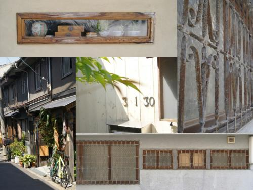 今回大阪京都に行くにあたり、オススメされた場所は、中崎町、谷町六丁目、空堀商店街、飛田新地料理組合、味園ビル、祇園など。<br /><br />いけなかった場所もあるけど、中崎町からスタート。<br />朝の8時くらいからお昼くらいまでずっと路地裏を地図なしでひたすら歩きました。