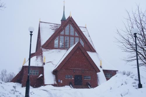キルナ教会(Kiruna Kyrka)<br /><br />http://www.jukkasjarviforsamling.se/