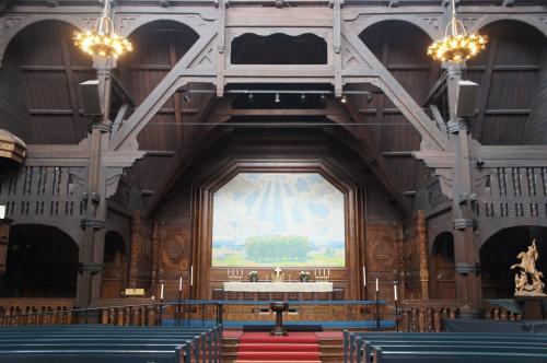 キルナ教会(Kiruna Kyrka)の祭壇