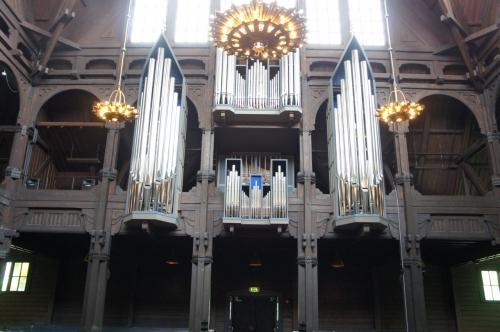 キルナ教会(Kiruna Kyrka)のパイプオルガン