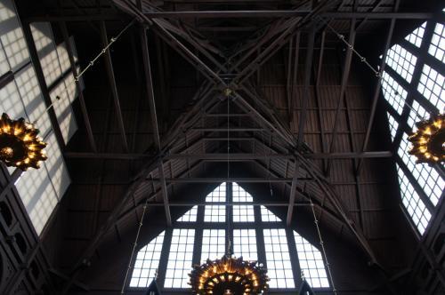 キルナ教会(Kiruna Kyrka)の天井