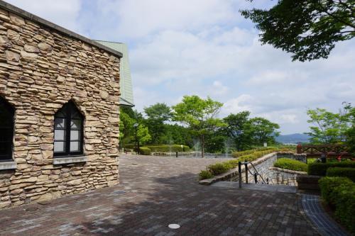 長寿寺から常楽寺に戻りますが、早めにお昼にしておきましょう。<br />じゅらくの里は、長寿寺と常楽寺の中間にある施設というか、公園ですね。