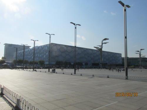 国家遊泳中心「水立方」は五輪後ほとんど使われておりません。