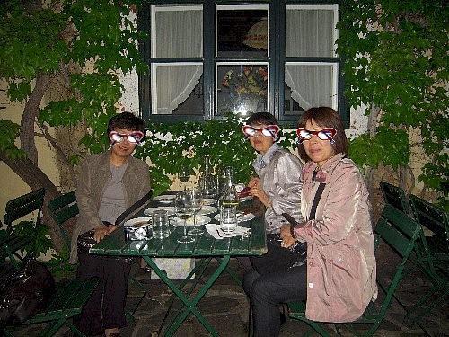 「次にウィーンへ来たら、観光客が行くウィーンの森近くのホイリゲに連れてって下さい」とキミちゃんにお願いし、再会を約束してお別れしました。