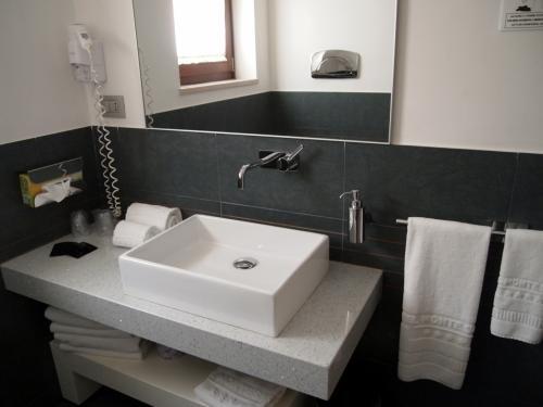 洗面台もシンプルで結構好き