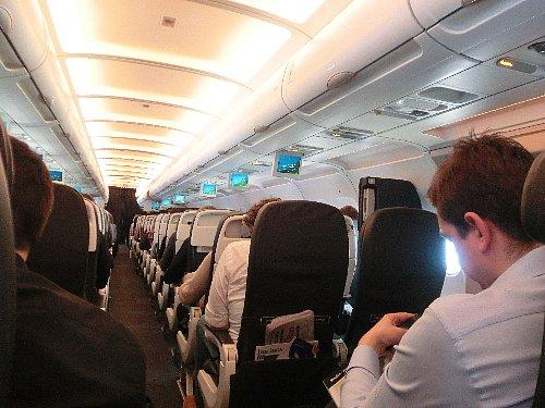 ロンドン→アムステルダムの機内、日本人は私だけ