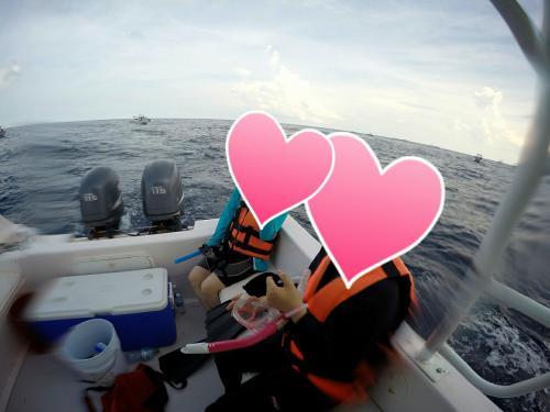 ジンベイザメのシュノーケルがこんなにタイトだと思っていなかった私は<br />心と体の準備が出来て無く、1回目のトライに失敗。<br /><br />ジンベイをみる事が出来ませんでした。。。。