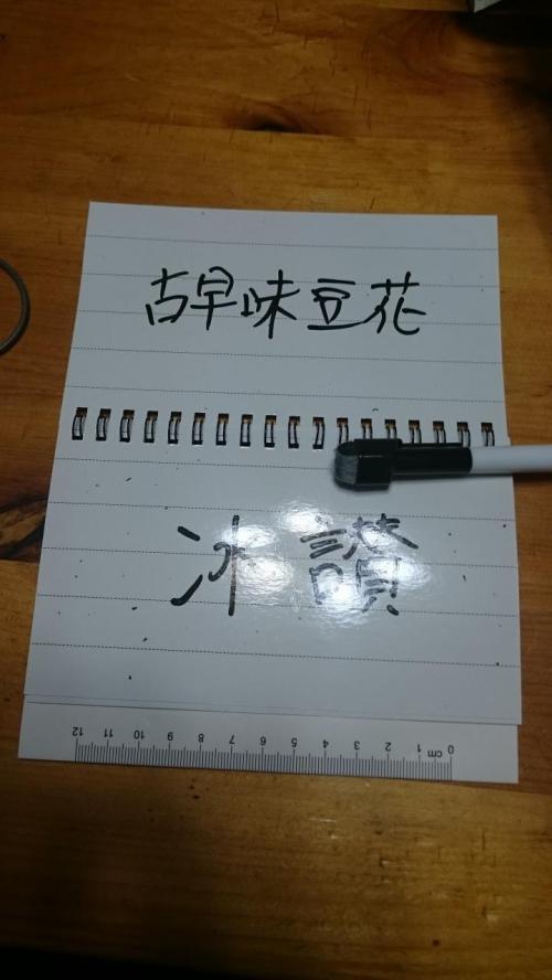 4トラの旅行記を参考にして、100均で買ってきた物です。<br /><br />ホワイトボード(ノート型)<br /><br />ノートのようになっているので、1回1回消さなくても使えます。