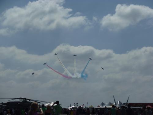 ネリスでも観たPatriots L-39 Jet Teamと初見のBreitling L-39 Jet Team。