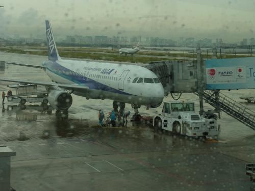 【羽田空港】<br /><br />こんな天気じゃしょうがないか〜
