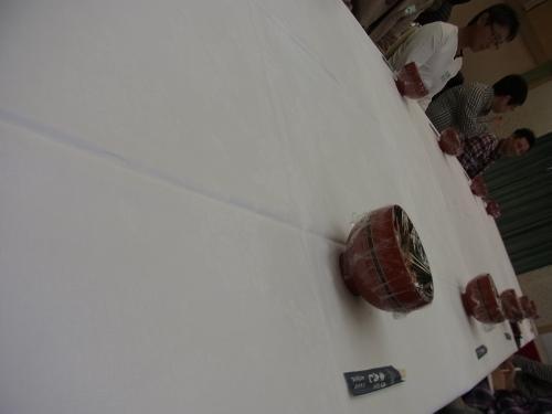 【キャッスル真名井】<br /><br />テーブルが大きすぎて遠い