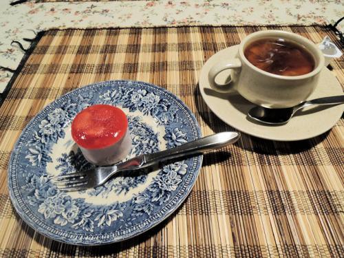 デザートとコーヒー。