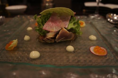 レトワールという3000円のコースなのですが、美味しくて<br />ボリュームもあって、お値段以上の満足感!<br />