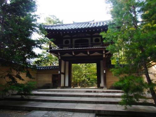 大徳寺の塔頭寺院(名前わからない)。外国人の修行僧っぽい人が入って行った。