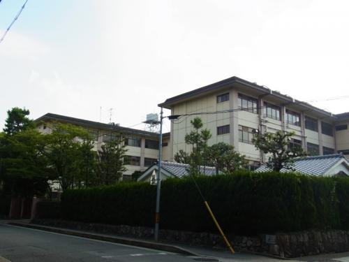 何回も京都を訪れていても金閣寺や銀閣寺には行ったことがなかったのとは逆に、大徳寺界隈はなぜか常に行っているところ。引き寄せられちゃうのかな。<br />しかしこの辺り一帯を紫野と呼ぶのを知ったのは最近です。むらさきの、きれいな地名。歌枕にもなっていますね。<br />こちらは紫野高校。