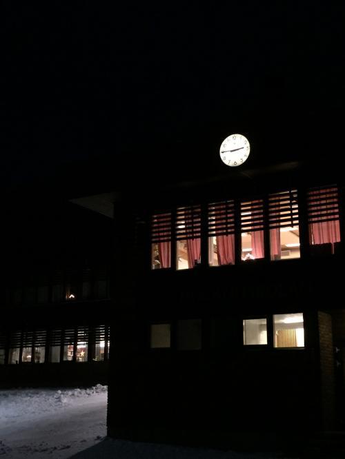 午後2時45分でこの暗さ!!<br />すでに2時くらいにはくらいけど(°_°)
