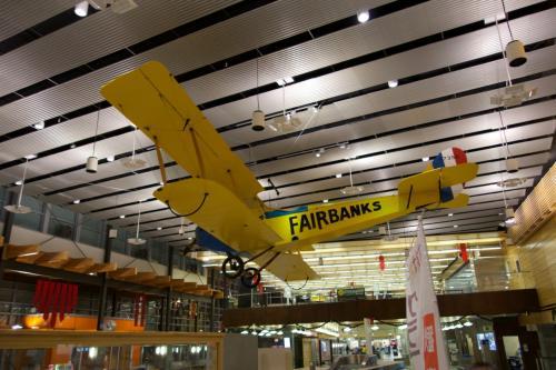 現地時間の夜中3時に、フェアバンクス空港到着!