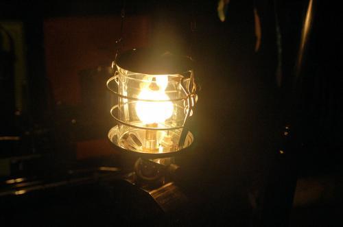 灯油ランタン。