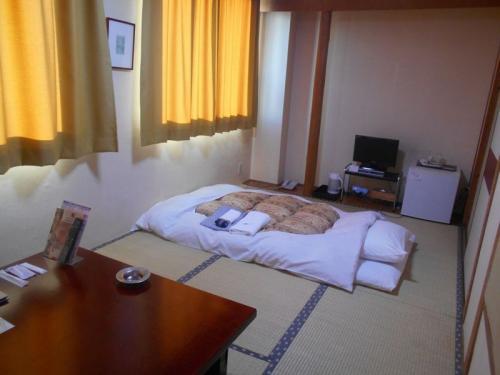 1泊3,780円。楽天で予約しました。