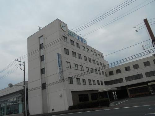 仕事で高崎にやってきました。宿泊した「ホテルナガイ」です。