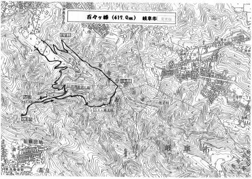今日、歩くコースの地図です。当初は逆コースで歩く事になっていました。東海自然歩道の階段を登るとなると、キツイので、逆に歩くようにして貰いました。<br /><br />